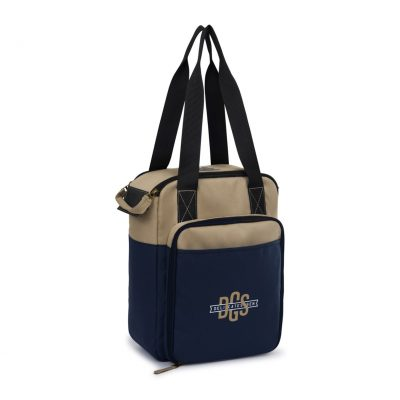 Southport Insulated Picnic Kit Blue-Natural-Navy