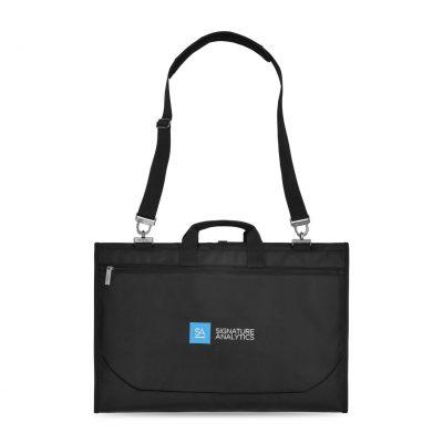 Travis & Wells™ Trenton Garment Bag Black