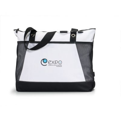 Venture Convention Tote Black-White