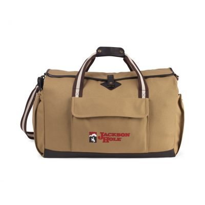 Heritage Supply Ridge Cotton Utility Duffel Natural