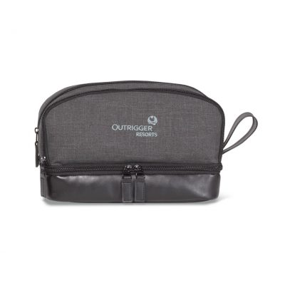 Heritage Supply Tanner Amenity Case Grey-Black