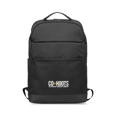 Mobile Office Computer Backpack - Black