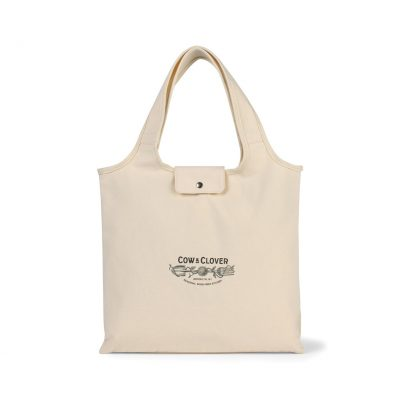 Willow Deluxe Cotton Packable Tote Natural