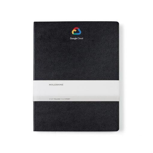 Moleskine® Hard Cover Ruled XX-Large Notebook - Black