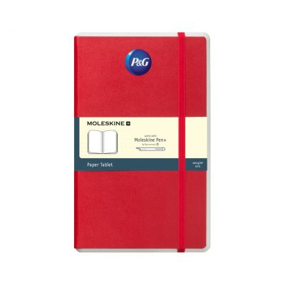 Moleskine® Paper Tablet N°1 - Ruled Paper Red