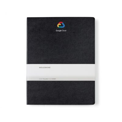 Moleskine® Hard Cover Ruled XX-Large Notebook - Black