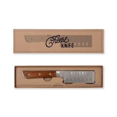 W&P Cheese Knife Grey-Silver