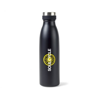 Aviana™ Palmer Double Wall Stainless Bottle - 17 Oz. Black