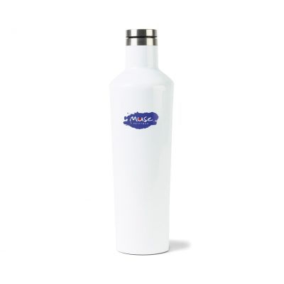 Corkcicle® Canteen & Stemless Wine Cup Gift Set White