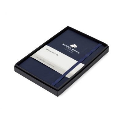 Moleskine® Medium Notebook Gift Set - Navy Blue