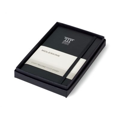 Moleskine® Pocket Notebook Gift Set Black