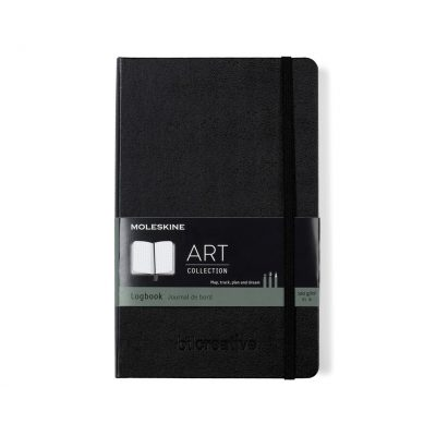 Moleskine® Logbook Notebook - Black
