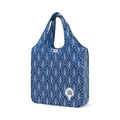 RuMe® Classic Medium Tote Blue-White
