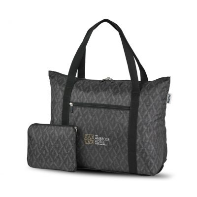 RuMe® cFold Travel Duffle Black-Grey