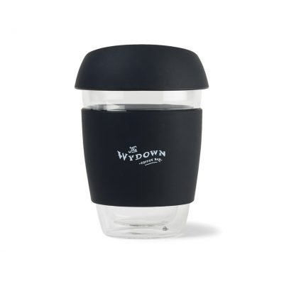 West Village Double Wall Glass Tumbler - 9 Oz. - Black