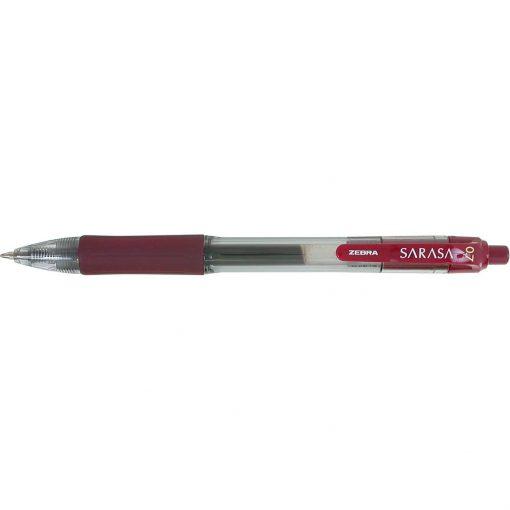 Zebra® Sarasa Dry X20 Gel Retractable Pen Red