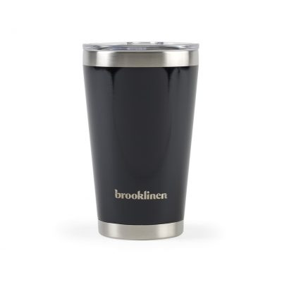 16 Oz. Black Aviana™ Vale Double Wall Stainless Pint