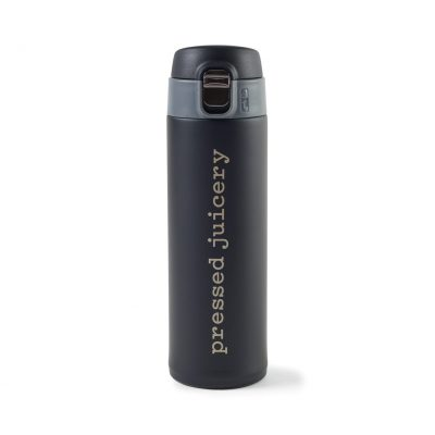 16 Oz. Black Birke Double Wall Stainless Bottle