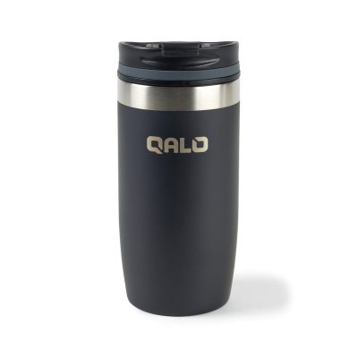 16 Oz. Black Brynn Double Wall Stainless Tumbler
