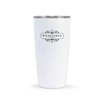 16 Oz. White MiiR® Vacuum Insulated Tumbler