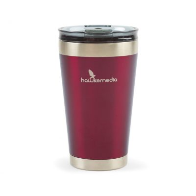 16 Oz. Wine Red Aviana™ Solara Double Wall Stainless Tumbler