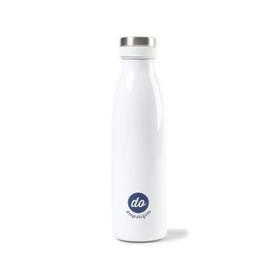 17 Oz. White Opaque Gloss Aviana™ Palmer Double Wall Stainless Bottle