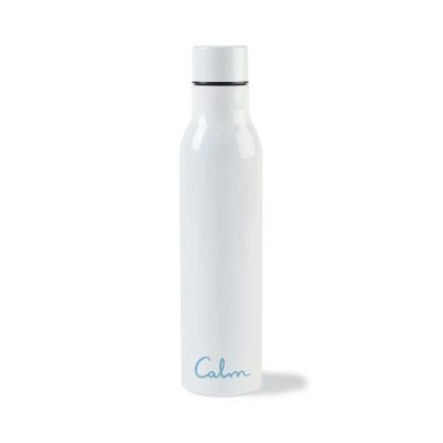 17 Oz. White Sidney Double Wall Stainless Bottle
