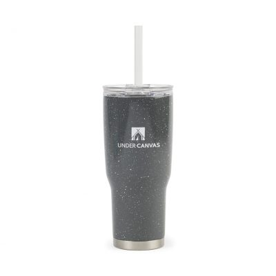 24 Oz. Charcoal Gray Aviana™ Midas Double Wall Stainless Tumbler