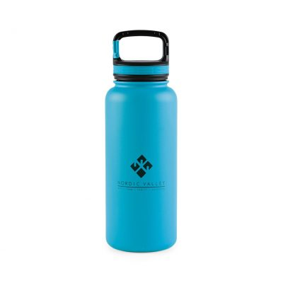 32 Oz. Aqua Blue Aviana™ Cypress XL Double Wall Stainless Bottle