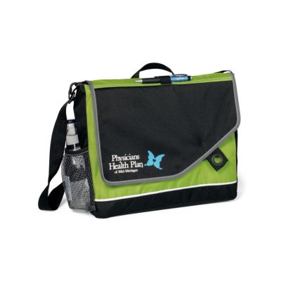 Apple Green/Black Attune Messenger Bag II