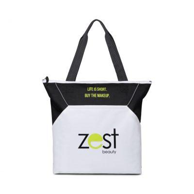Black Everett Convention Tote Bag