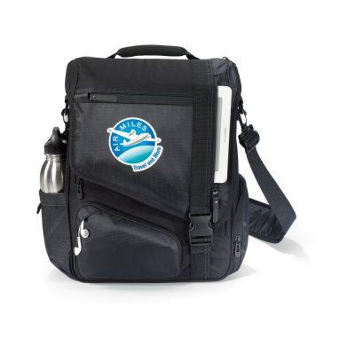 Black Life in Motion® Momentum Computer Messenger Bag