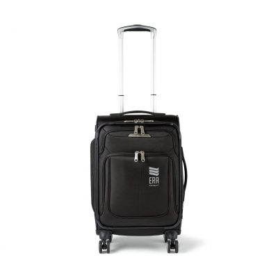 Black Samsonite SoLyte DLX Carry-On Expandable Spinner