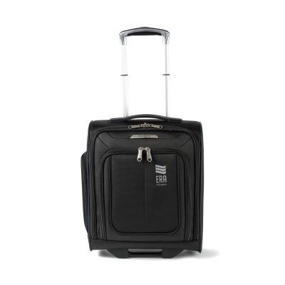 Black Samsonite SoLyte DLX Underseat Wheeled Carry-On