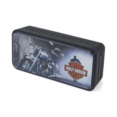 Black Sunapee Bluetooth® Outdoor Speaker