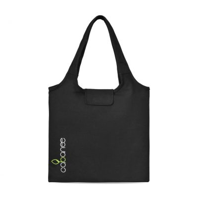 Black Willow Cotton Packable Tote Bag