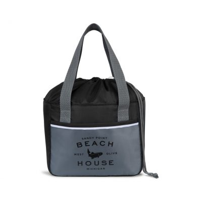 Black/Gray Dover Lunch Cooler