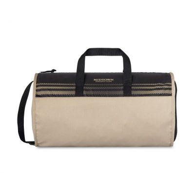 Camel Brown/Natural Beige Track Sport Bag