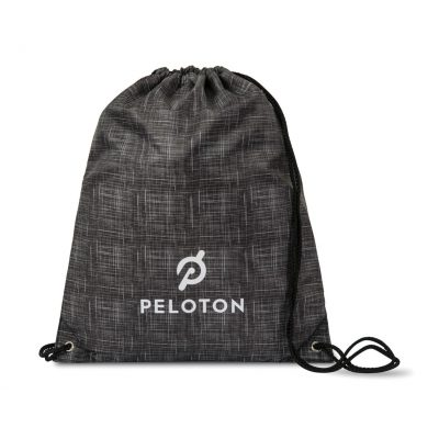 Charcoal Heather Gray Riley Patterned Cinchpack