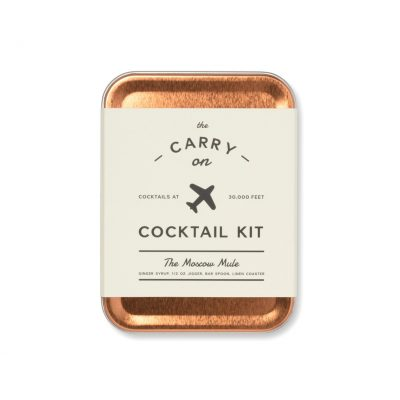 Copper W&P Moscow Mule Carry On Cocktail Kit