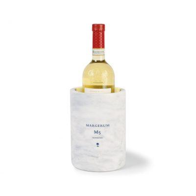 Gray Umbria Marble Wine Chiller