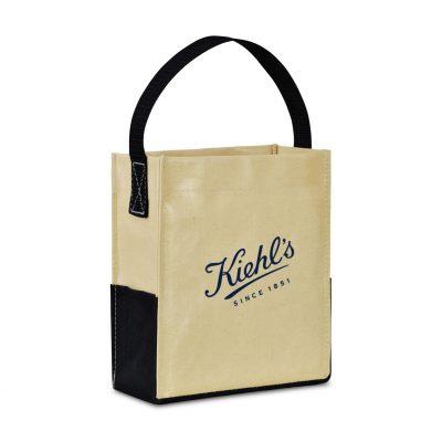 Natural Kali Coated Cotton Mini Tote Bag