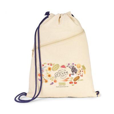 Natural Sage Cotton Convertible Cinchpack