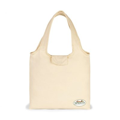 Natural Willow Cotton Packable Tote Bag