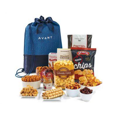 Navy Blue Lenox Cinch Pack of Snacks