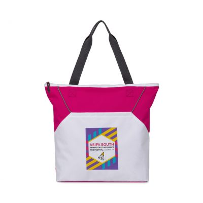 Power Pink Everett Convention Tote Bag