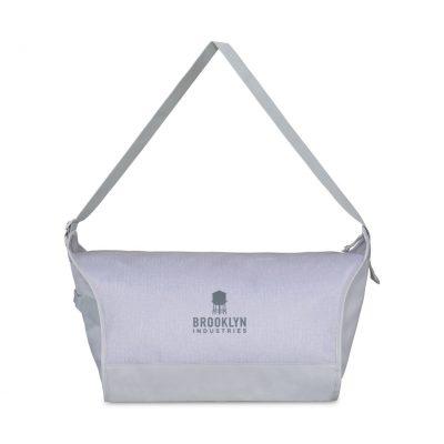 Quiet Gray Brooklyn Sport Bag
