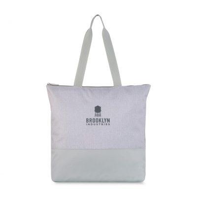 Quiet Gray Tribeca Tote Bag