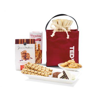 Red Kali Cookie Tote Bag