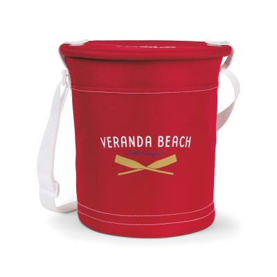 Red Sandbar Insulated Party Pail
